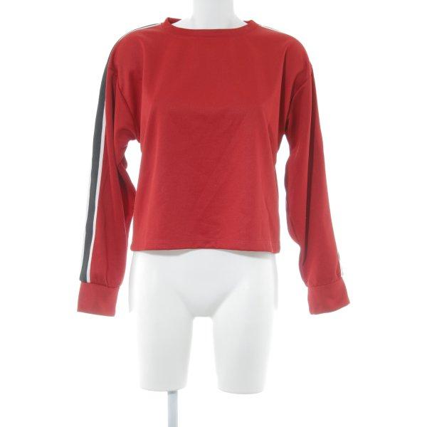 Mango casual Sweatshirt Streifenmuster Casual-Look