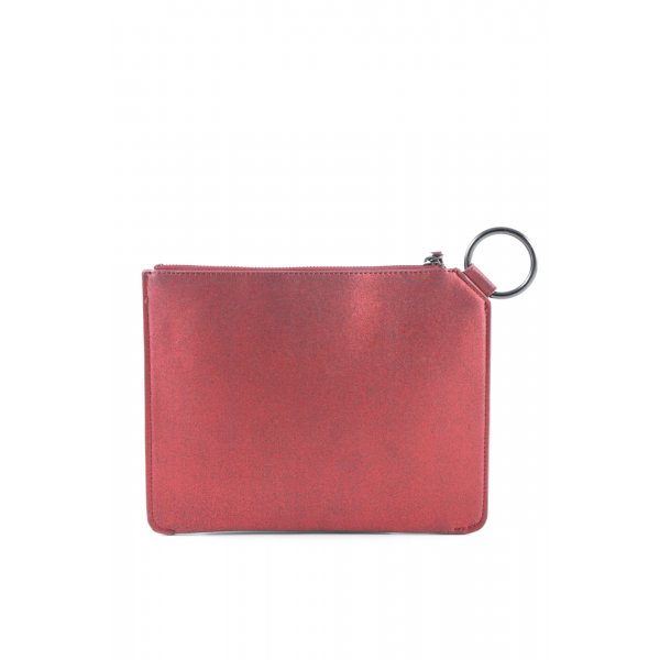 Mango Clutch rot Party-Look