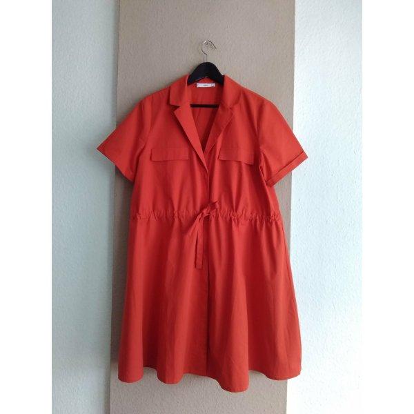 Mango hübsches Hemdblusenkleid aus Baumwolle, Grösse L, neu