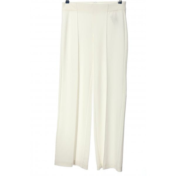 Mango Suit Baggy Pants weiß Business-Look