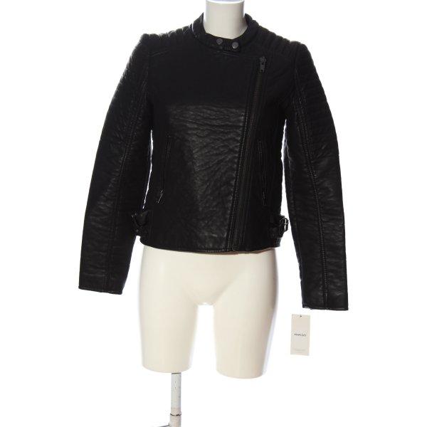 Mango Suit Kurzjacke schwarz Casual-Look