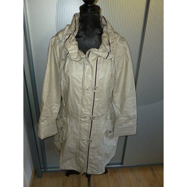 Mantel beige Cosima