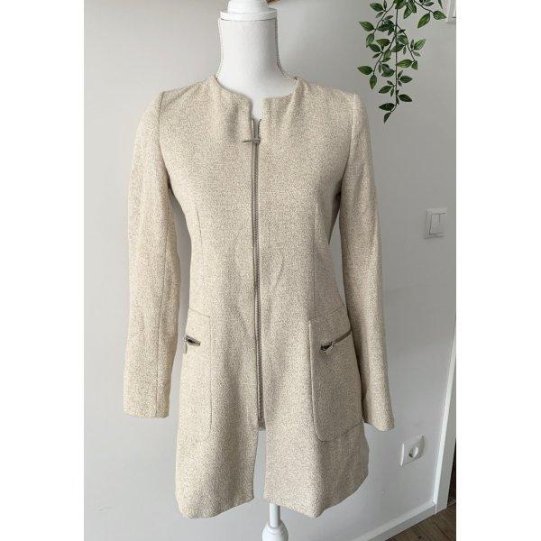 Mantel beige Zara S