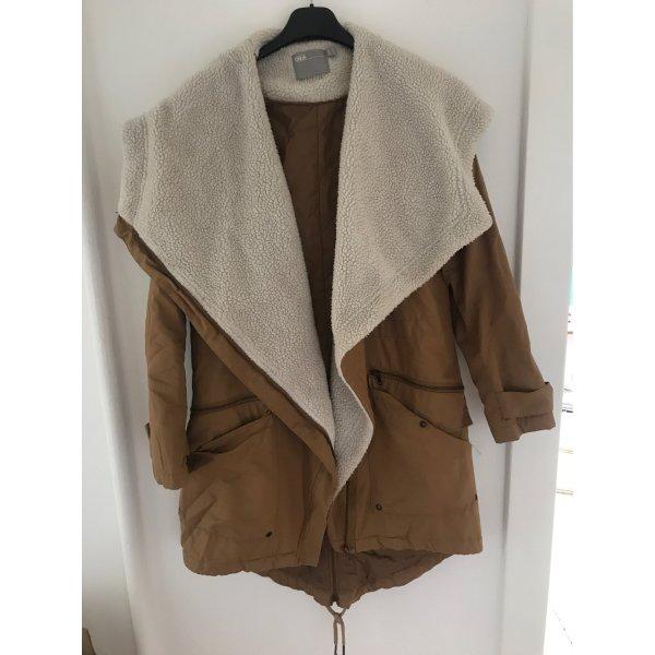 Mantel in braun