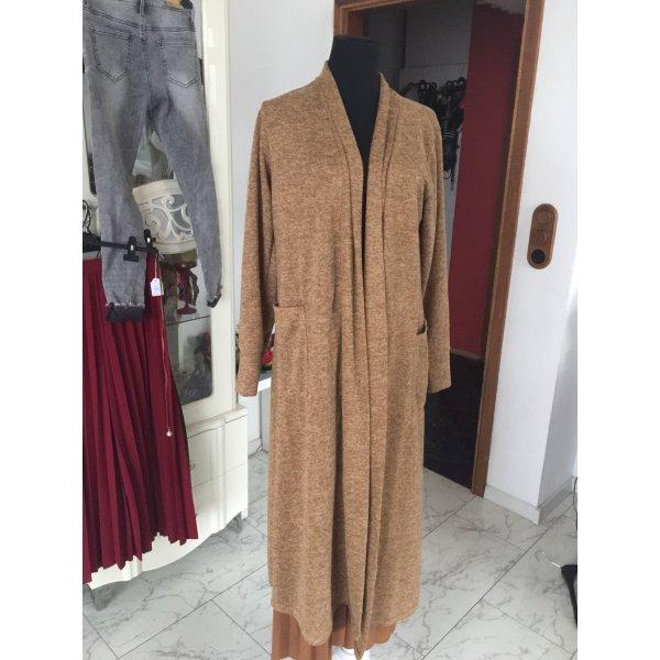 Abrigo de entretiempo marrón-marrón oscuro