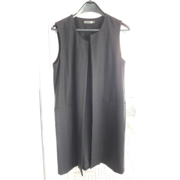 Mantelkleid ärmellos von UNQ Gr.40 schwarz