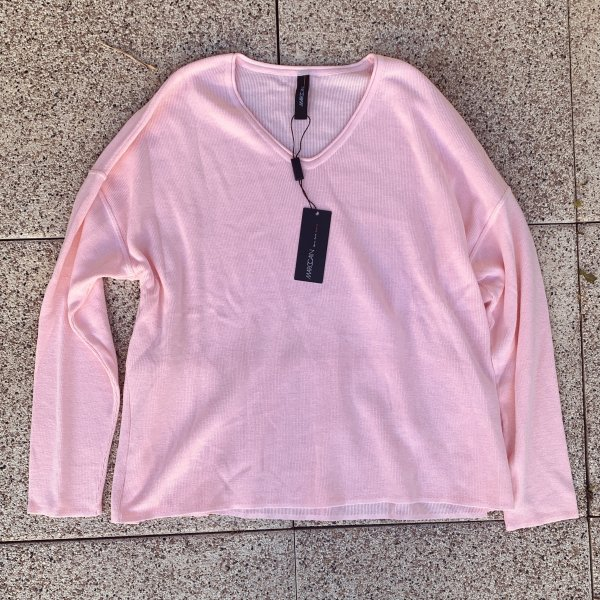 Marc Cain Oversized Sweater pink