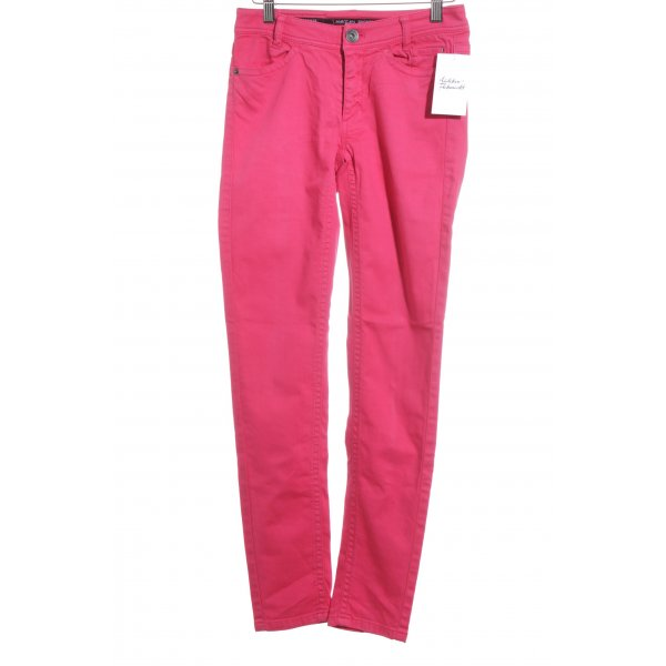 Marc Cain Sports Slim Jeans magenta Casual-Look