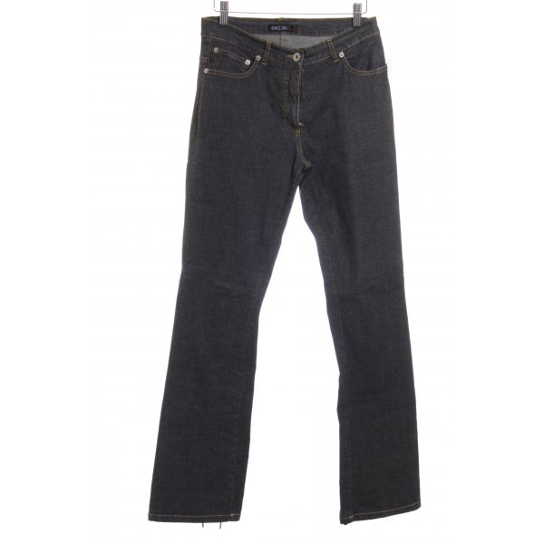 Marc Cain Straight-Leg Jeans grau Casual-Look