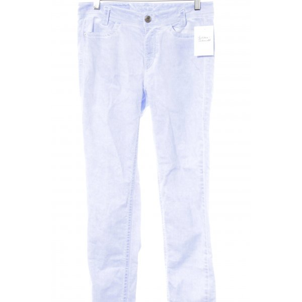 Marc Cain Straight-Leg Jeans helllila Washed-Optik