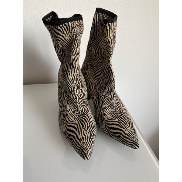 Marc Cain Strick Stiefelette Animal Print