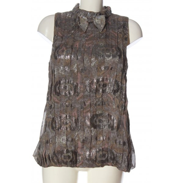 Marc Jacobs ärmellose Bluse abstraktes Muster Casual-Look