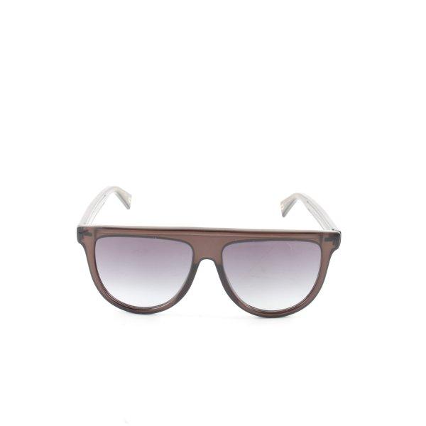 Marc Jacobs eckige Sonnenbrille braun Business-Look