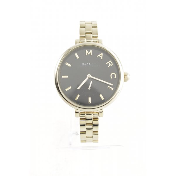 """Marc Jacobs Uhr mit Metallband """"Sally Stainless Steel Gold/Black"""""""