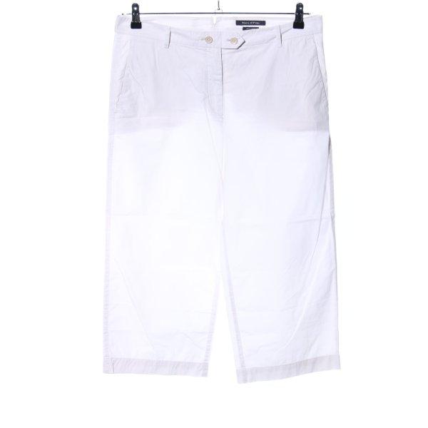 Marc O'Polo 3/4-Hose weiß Casual-Look