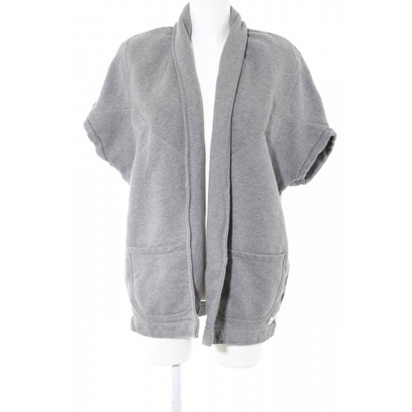 Marc O'Polo Cardigan hellgrau meliert Casual-Look