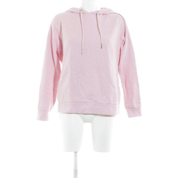 Marc O'Polo Kapuzenpullover rosa-pink Schriftzug gedruckt Casual-Look