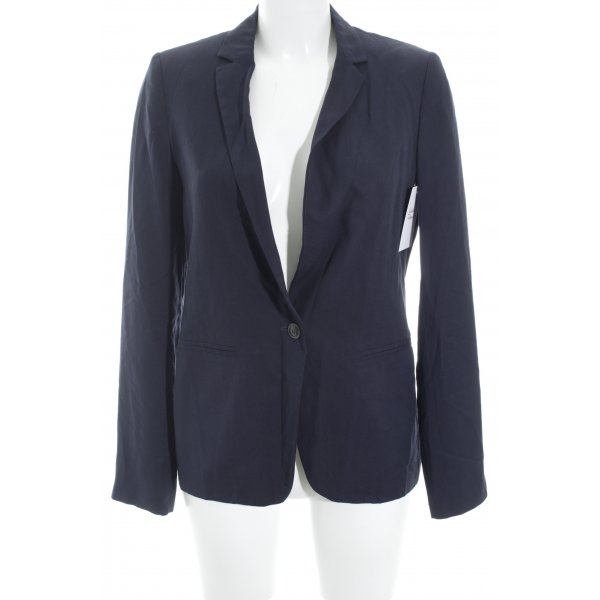Marc O'Polo Kurz-Blazer dunkelblau Business-Look