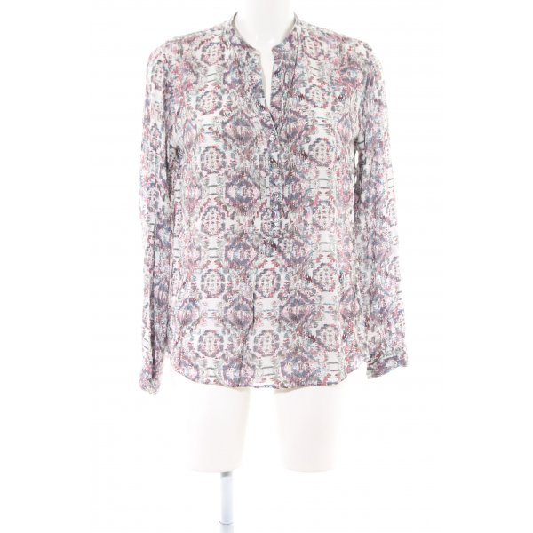 Marc O'Polo Schlupf-Bluse abstraktes Muster Casual-Look