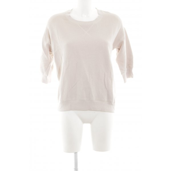 Marc O'Polo Sweatshirt wollweiß-creme Casual-Look