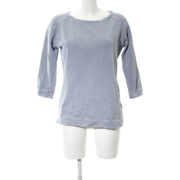 Marc O'Polo Sweatshirt hellgrau Casual-Look