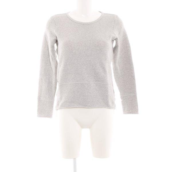 Marc O'Polo Sweatshirt hellgrau meliert Business-Look
