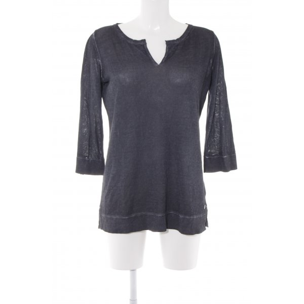 Marc O'Polo Sweatshirt graublau Casual-Look