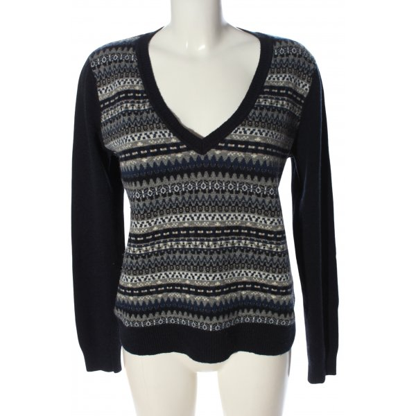Marc O'Polo Wollpullover Mustermix Casual-Look