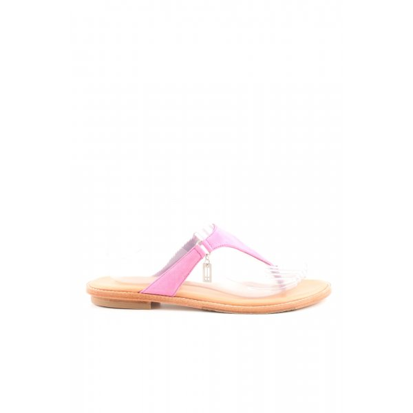 Marc O'Polo Zehentrenner-Sandalen pink Casual-Look