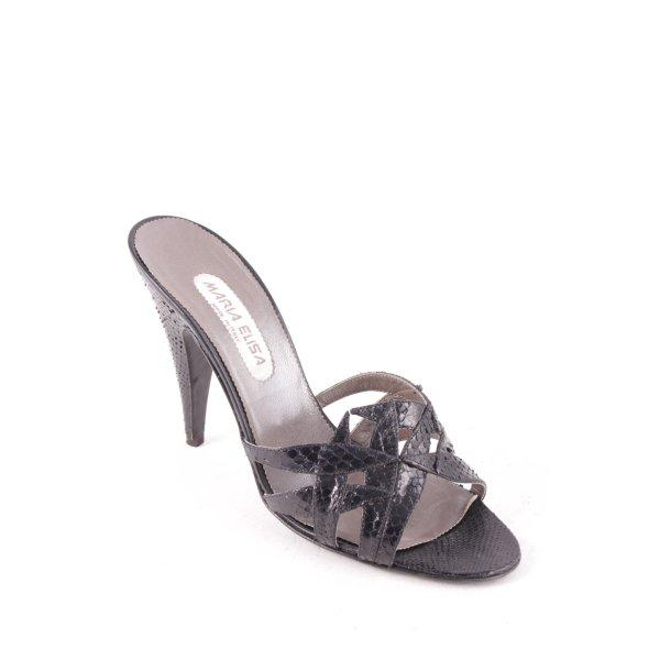 Maria Elisa High Heel Sandal black extravagant style