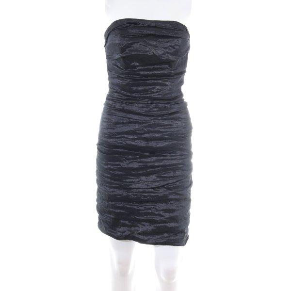 Marie Noir Bandeaukleid schwarz Elegant