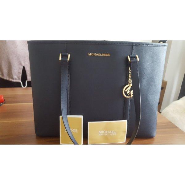 Marineblaue Michael Kors Handtasche