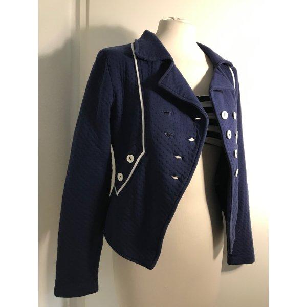 Maritimer Cotton Jersey-Blazer Gr. M