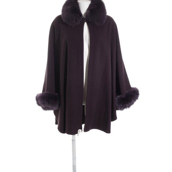 Marvin Richards Mantella marrone-viola-rosso mora elegante