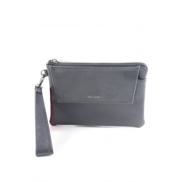 Matt & Nat Clutch dunkelbraun Casual-Look