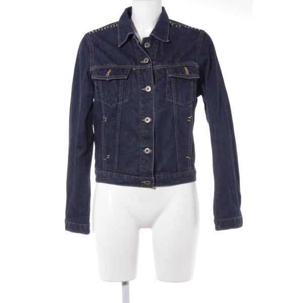 Mavi Jeansjacke blau Casual-Look