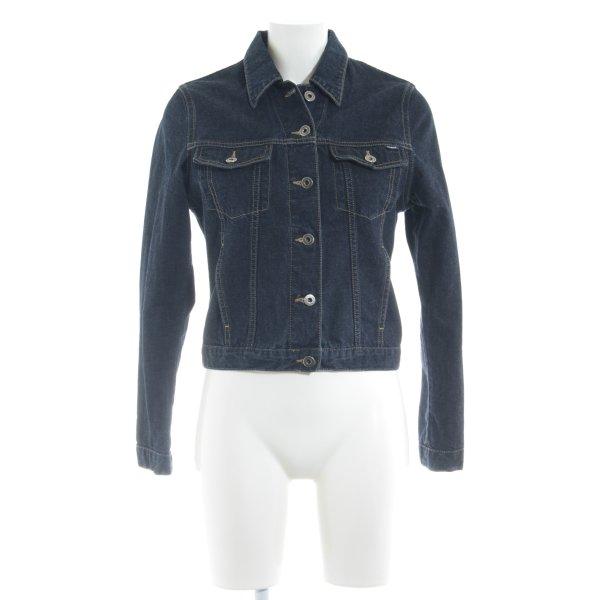 Mavi Jeansjacke dunkelblau Casual-Look