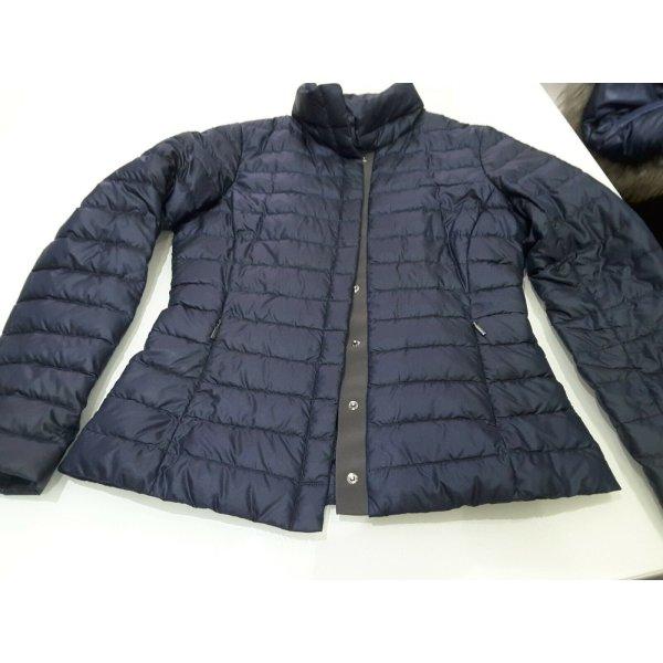 Max Mara Jacke Sommer Daune Jacke / Blazer Gr. 40 Blau Tolle, leichte Übergangsjacke