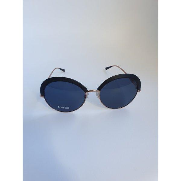 Max Mara schwarze/Gold Sonnenbrille