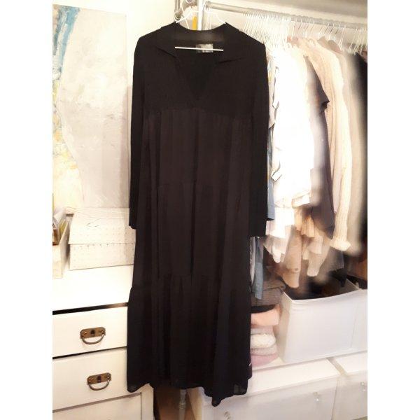 Empire Dress black mixture fibre