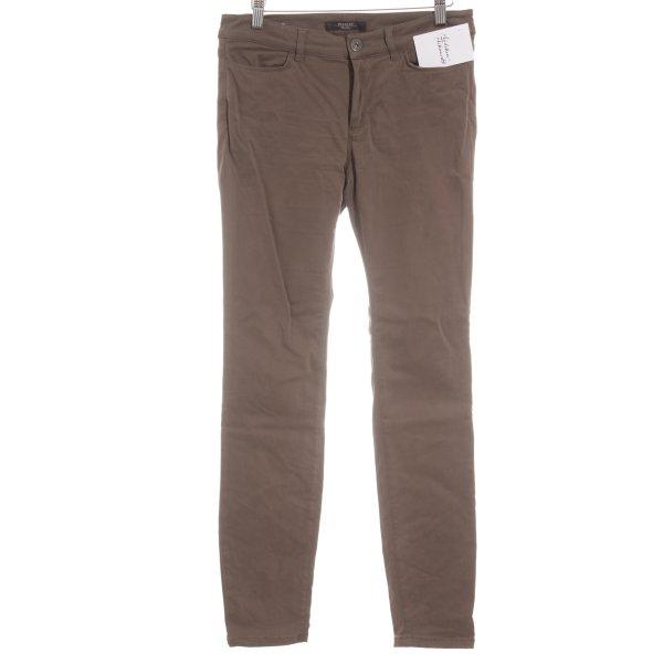 MaxMara Weekend Skinny Jeans ocker Casual-Look
