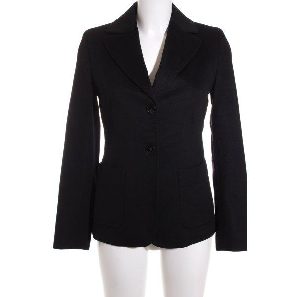 MaxMara Weekend Woll-Blazer schwarz klassischer Stil