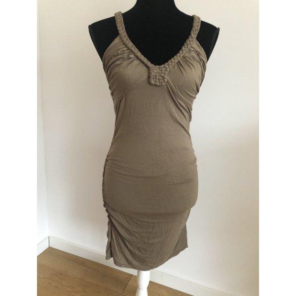 Maxstudio Designer sexy Stretch Kleid Seitliche Raffungen M
