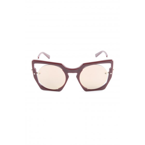 MCM Butterfly Brille purpur Casual-Look