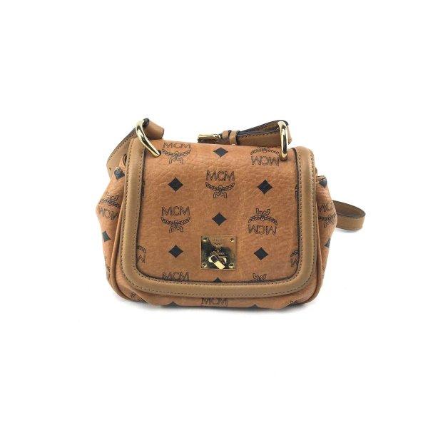 MCM Crossbody bag cognac-coloured