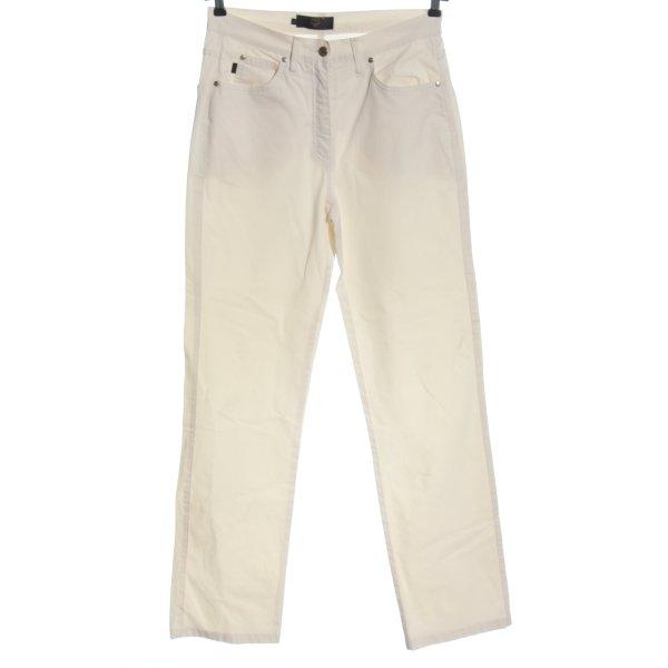 MCM Five-Pocket-Hose wollweiß Casual-Look
