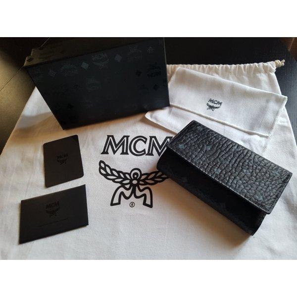 MCM Wallet black-cornflower blue