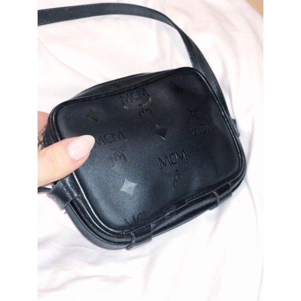 MCM Vintage Crossbody-Wallet (black)