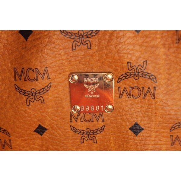 MCM Reistas cognac-bruin