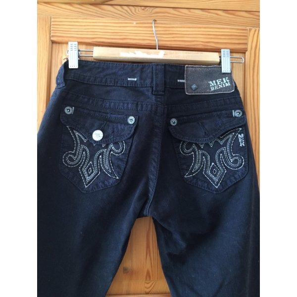 MEK Jeans in Schwarz